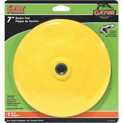 Gator 7 In. Power Angle Grinder Backing Pad