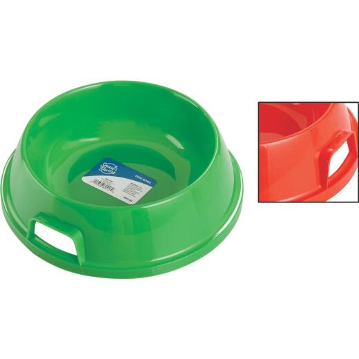 Smart Savers Plastic Circular Pet Food Bowl
