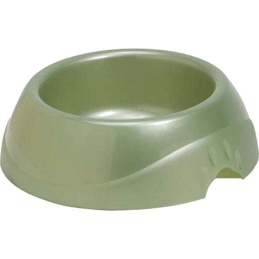 Petmate Circular Large Designer Pet Food Bowl